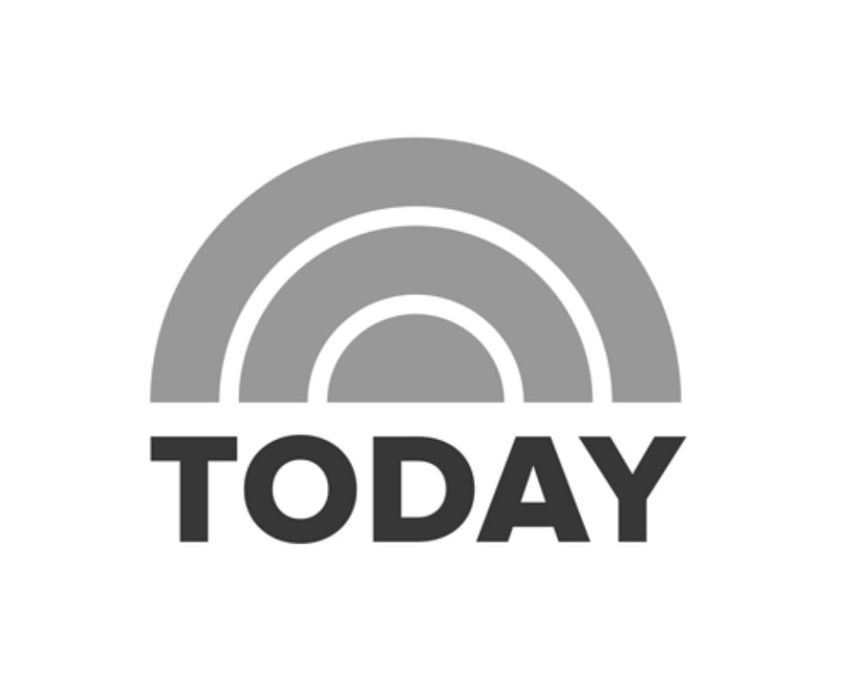 NBC Today logo black and white
